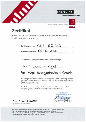 zertifikat_joachim-vogel_batteriespeichersystem_2014